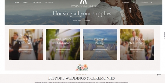 MyWeddingShop.lk